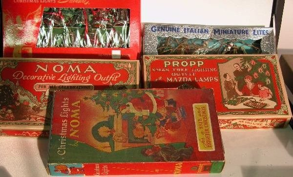 3017: ***SIX BOXES OF CHRISTMAS LIGHTS|  Two marked Nom
