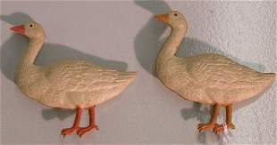 ***TWO DRESDEN CHRISTMAS ORNAMENTS| Depicting ge