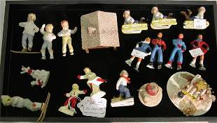 ***GROUP OF CHRISTMAS DECORATIONS| Including bis