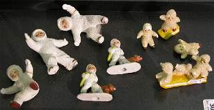 ***GROUP OF SNOW BABIES| Five marked Germany on b