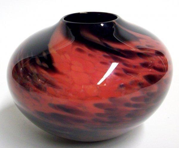 1006: JENKINS & ROSS ART GLASS VASE