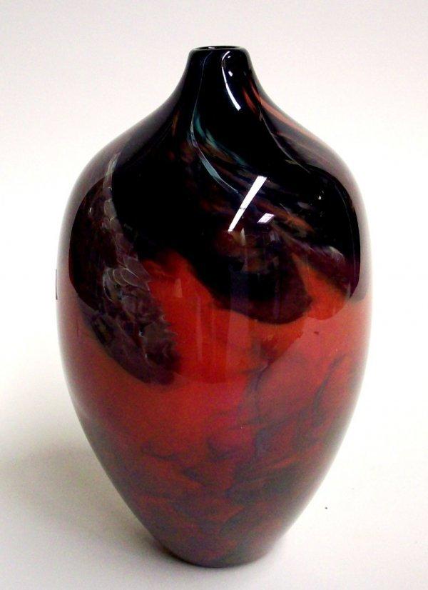 1011: JENKINS & ROSS ART GLASS VASE