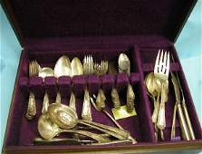 5020: SEVENTY-NINE PIECE SET OF TOWLE STERLING SILVER F