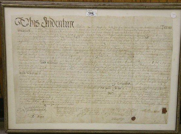 4248: INDENTURED SERVANT DOCUMENT  Handwritten ink on p