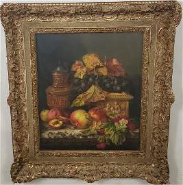 *EDWARD LADELL ORIGINAL OIL PAINTING