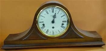 *CAMELBACK MANTEL CLOCK BY HOWARD MILLER