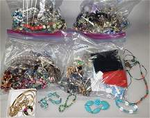 *LARGE GROUP OF COSTUME JEWELRY