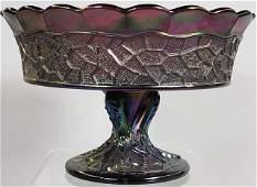 CARNIVAL GLASS COMPOTE