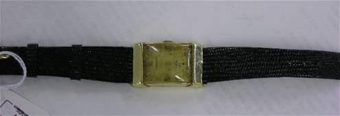 1394 GENTLEMENS WITTNAUER WRISTWATCH Jeweled movement