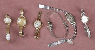 1399S GROUP OF MISCELLANEOUS LADIES WRISTWATCHES COND