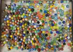 GROUP OF MISCELLANEOUS MARBLES