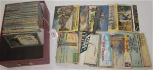 GROUP OF MISCELLANEOUS POSTCARDS
