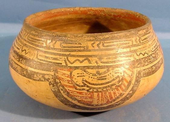 3013: COSTA RICAN PRE-COLUMBIAN POTTERY| Polychrome pai