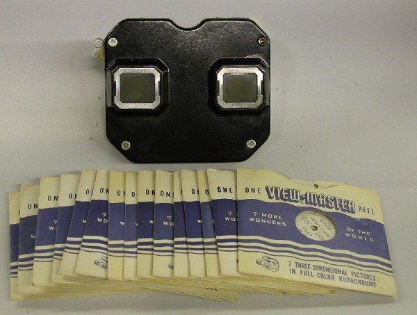 4024: VIEW-MASTER WITH FIFTEEN SLIDES| Including Little