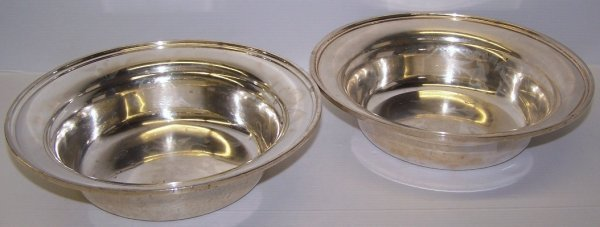 1106: ***TWO S. KIRK & SON STERLING SILVER BOWLS
