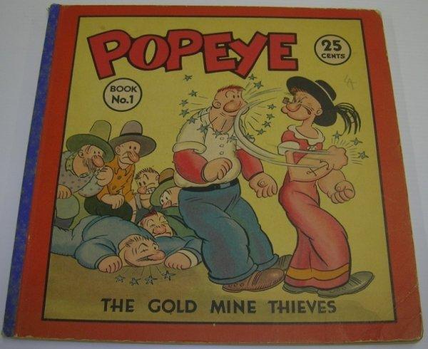 1074: ***SEGAR, ELZIE CRISLER  Popeye book, No. One