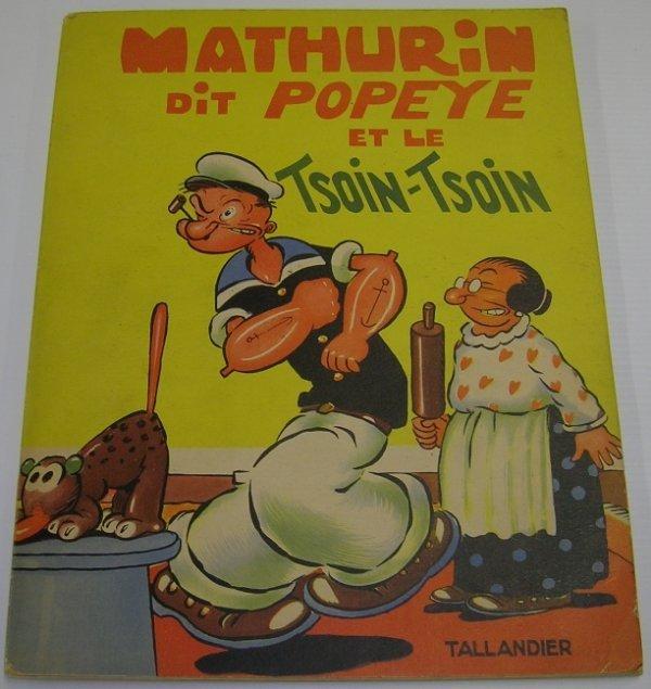 1075: ***SEGAR, ELZIE CRISLER  French Popeye book