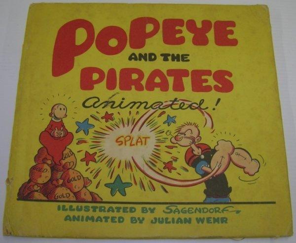 "1077: ***SEGAR, ELZIE CRISLER  ""Popeye and the Pirates"