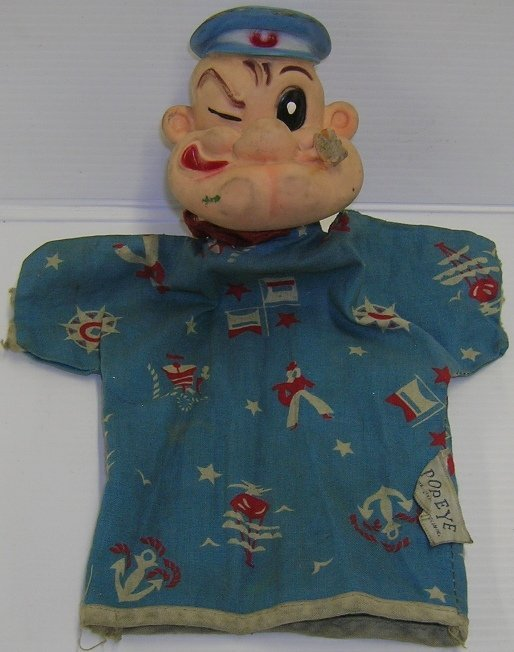 1083: ***SEGAR, ELZIE CRISLER  Popeye hand puppet