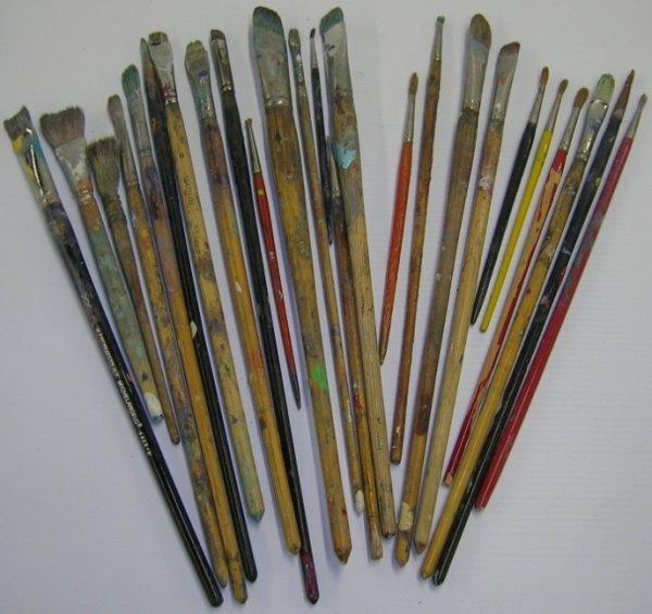 1085: ***SEGAR, ELZIE CRISLER   Artist's paint brushes