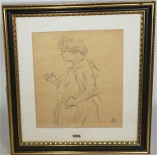 MANNER OF TOULOUSE-LAUTREC