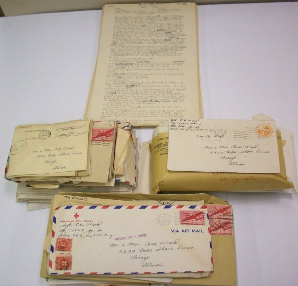 1023: ***FOUR GROUPS OF CORRESPONDENCE FROM TOM WARD TO
