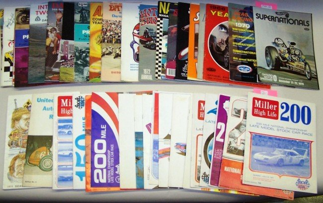 1008: ***GROUP OF FORTY-TWO RACE PROGRAMS