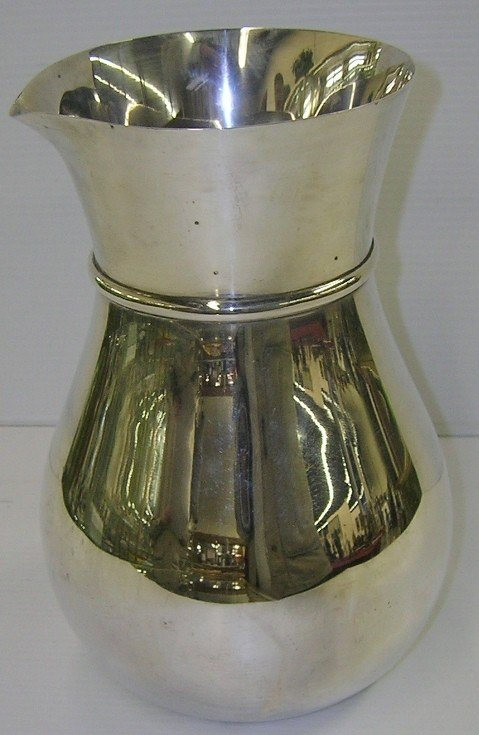 1003A: ***TIFFANY & COMPANY STERLING SILVER PITCHER