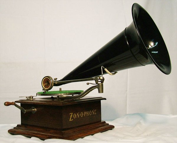 2052: ZONOPHONE HOME MODEL DISC PHONOGRAPH| 78 RPM, zon
