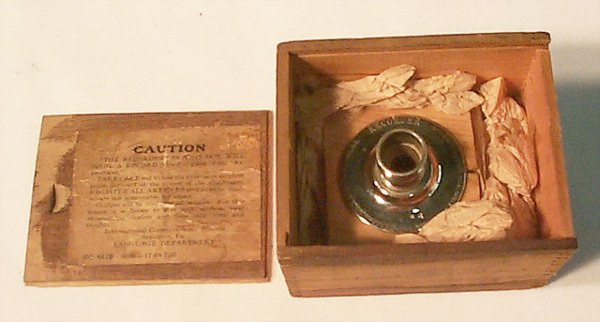 2061: EDISON RECORDER FOR CYLINDER PHONOGRAPH| In fitte