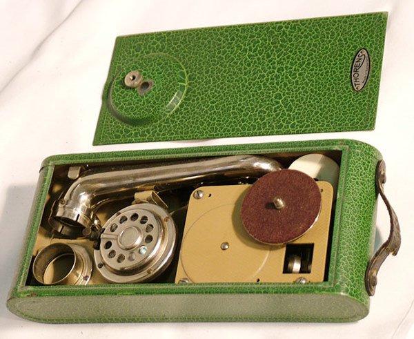 2064: THORENS EXCELDA DISC PHONOGRAPH| 78 RPM disc, cir