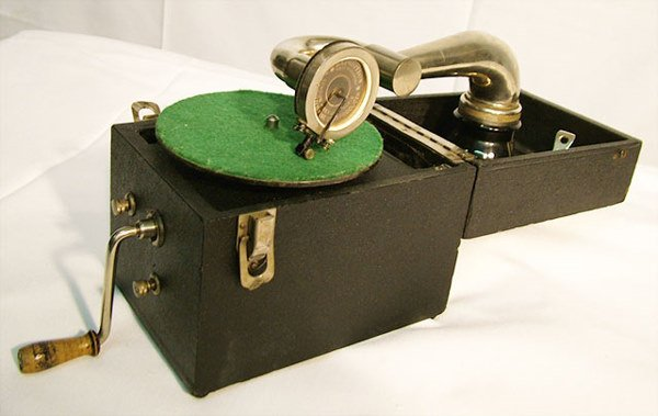 2073: KAMERPHONE DISC PHONOGRAPH| 78 RPM disc, circa 19