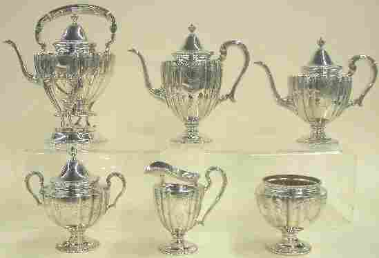 FRANK M. WHITING STERLING SILVER TEA A