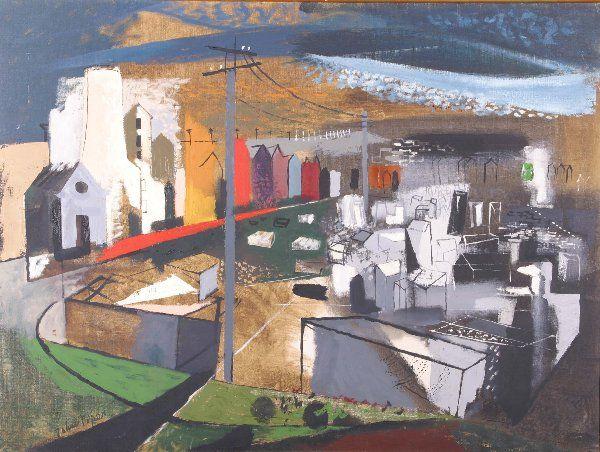 PIPER, JOHN (1903-1992 British) City s