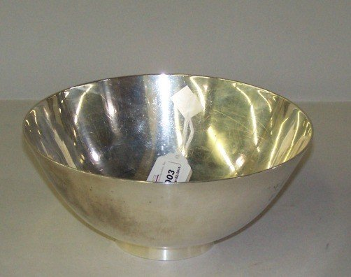 1003: ***TIFFANY & CO. STERLING SILVER FOOTED BOWL