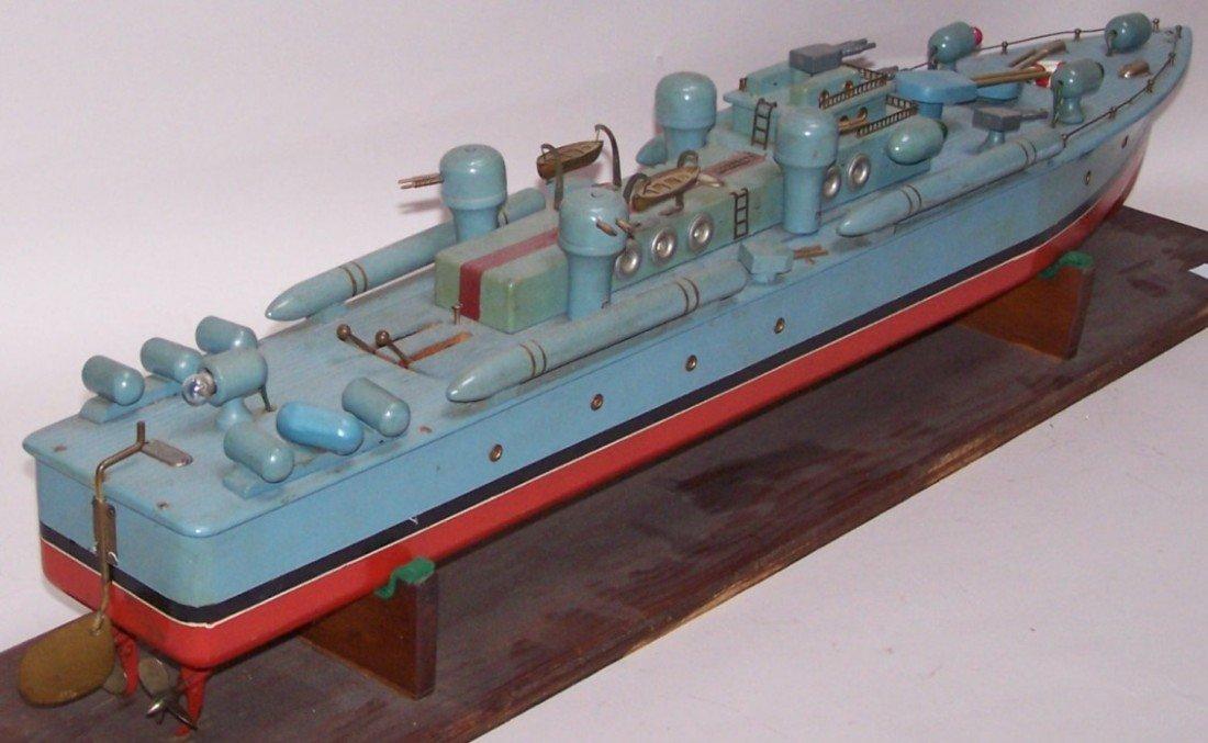3072: ***1940'S ITO WOODEN MODEL PT BOAT - 4
