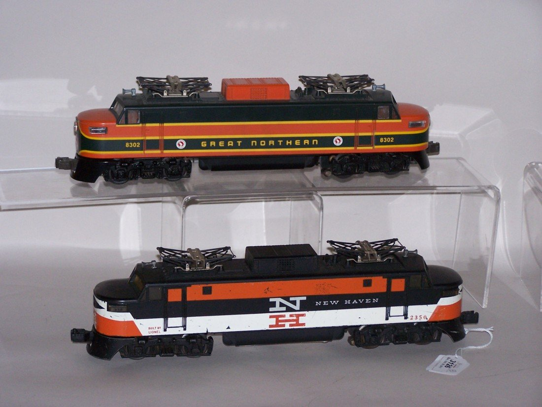 3126: ***2 LIONEL O GAUGE LOCOMOTIVES