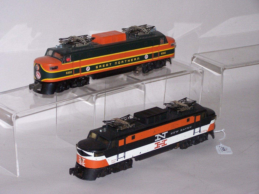 3126: ***2 LIONEL O GAUGE LOCOMOTIVES - 2