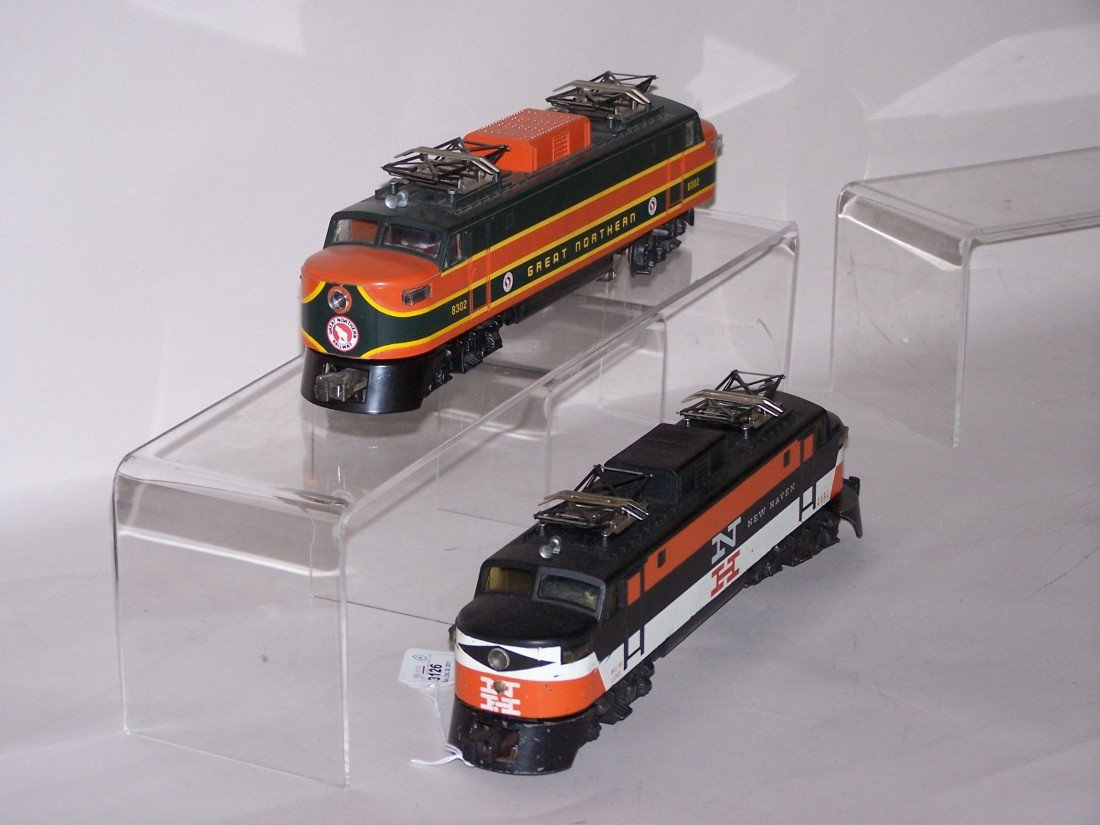 3126: ***2 LIONEL O GAUGE LOCOMOTIVES - 3