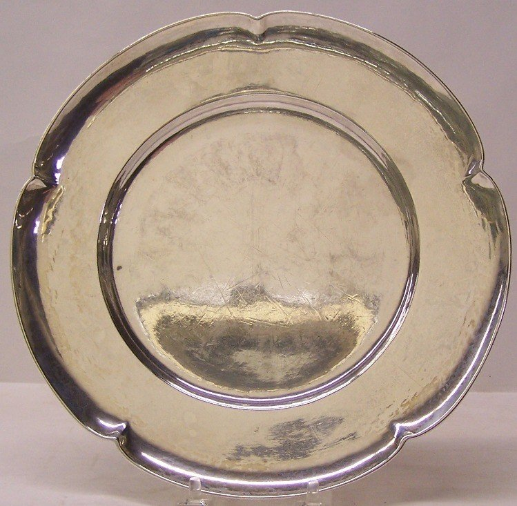 1008: AMERICAN ARTS AND CRAFTS STERLING SILVER DISH| Ma