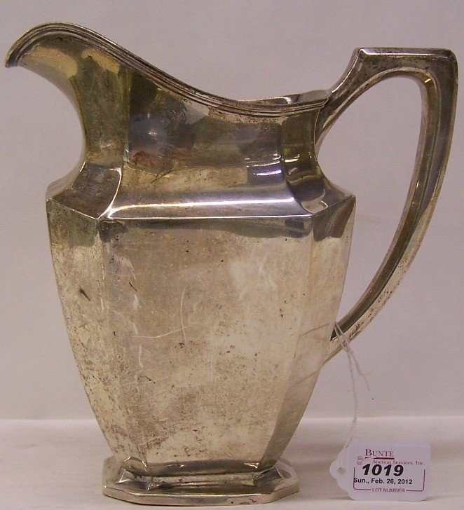 """1019: ***WALLACE STERLING SILVER PITCHER