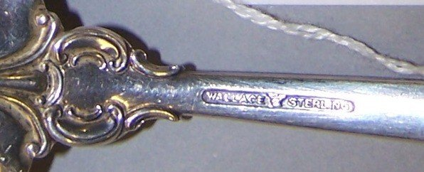 1029: ***PARTIAL SET OF WALLACE STERLING SILVER FLATWAR - 3