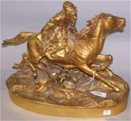 1400: ***GRACHEV, VASILLY  (19th Century Russian) Rider