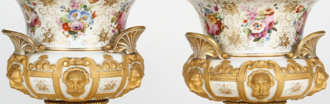 1251: ***PAIR OF 19TH C. RUSSIAN COVERED URNS - 3