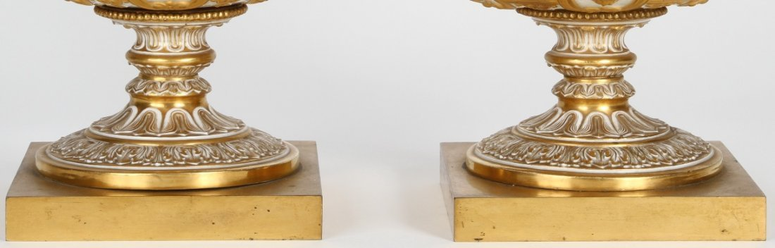 1251: ***PAIR OF 19TH C. RUSSIAN COVERED URNS - 4