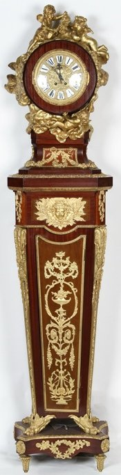 1100H: ***FRENCH LONG CASE CLOCK