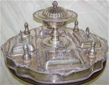 1653 SILVERPLATE SUPPER TRAY