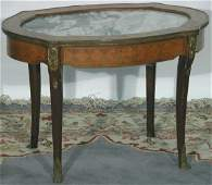 LOUIS XV STYLE COFFEE TABLE| Having marble with i