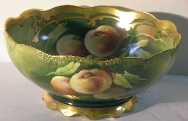 62: PICKARD PORCELAIN FOOTED BOWL