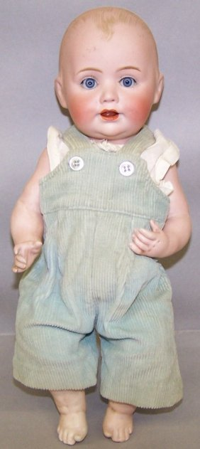 JD KESTNER ALL BISQUE CHARACTER DOLL